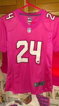 free shipping 01236 3fcca Used Seahawks Pink Jersey. for sale in Marysville - letgo