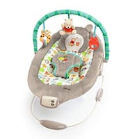 Baby's Winnie the Pooh bouncy chair