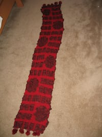 Women's Red Scarf Toronto