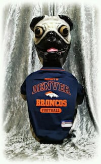 M NFL DENVER BRONCOS Dog Pet T-Shirt Lot#339 West Haven, 84401