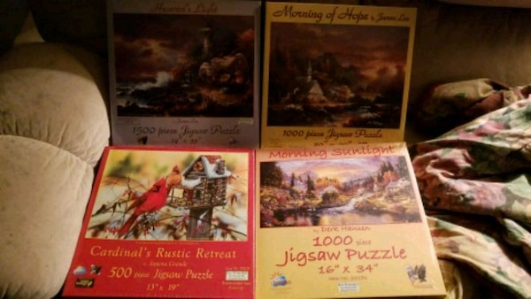 Brand New Puzzles for Sale!