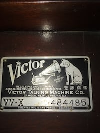 Victrola record player Purcellville