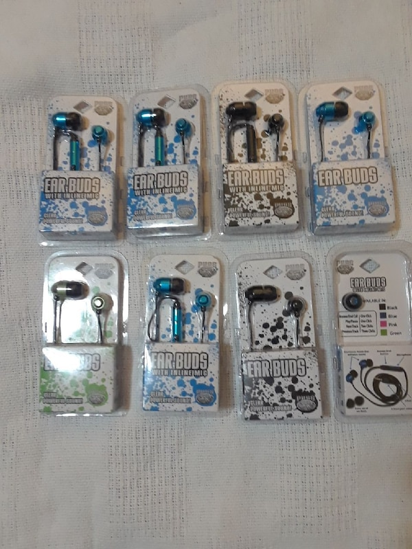 26b9ce0d0d8 Used Pugs earbuds with inline mic for sale in Akron - letgo