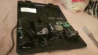 black and green power tool set 551 km