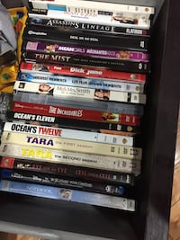 assorted-title DVD case lot Pickering, L1V 1R9