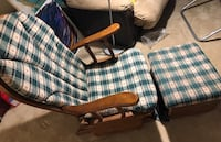 Glider Rocker Chair with Foot Stand 纳什维尔, 37212