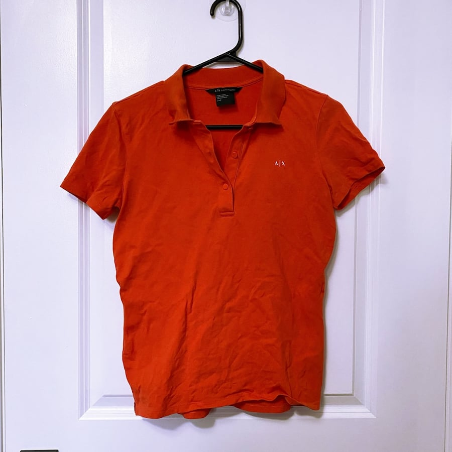 Armani exchange AX Polo Top (women's small)