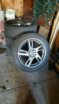 Custom 18-inch Staggered Rims Chicago, 60624