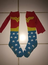 Wonder Woman socks with cape 1693 mi