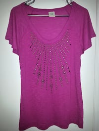 Fusia Studded Top (XL) Oshawa