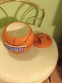 brown Snickers basketball themed case with lid Gaithersburg, 20879