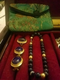 14k Gold blue Jade set Fairfax, 22032