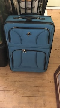 blue and black softside luggage Mahopac, 10541