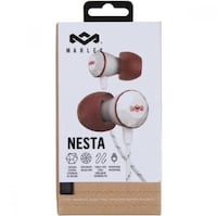 House of Marley Nesta In-Ear Headphones, Noise Isolating Vaughan