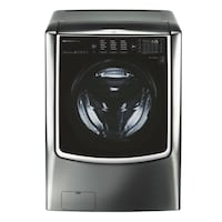 black and gray front-load clothes washer Washington