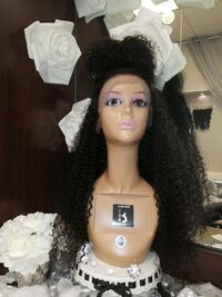 Kinky curly  lace front wig  Sterling, 20164