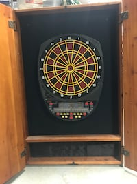 Wall mounted electronic dart board Orchard Park, 14127