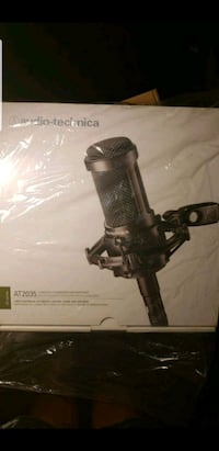 Never used or opened Audio-technica AT2035 Cardiod