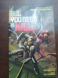 All you need is kill graphic novel  Brantford, N3S 4R2