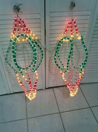Two beautiful Christmas ornaments 2 feet  tall Charlotte, 28227