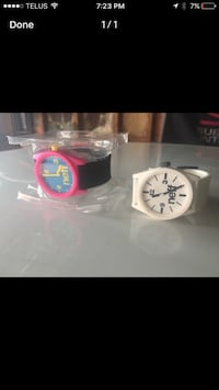 two white and pink analog watches Hamilton, L8V 4K6