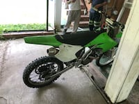 green and white motocross dirt bike Seat Pleasant, 20743