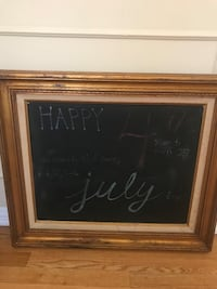 Antique gold frame with chalk board Pasadena