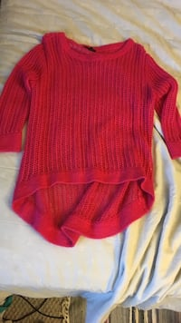 red crew neck sweater Kamloops, V2E 1R5