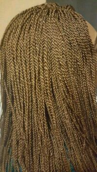 brown and black knitted textile Toronto, M1R 1T7