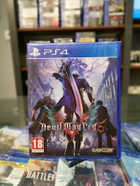 Ps4 Devil May Cry 5-SIFIR -Playbox Bursa