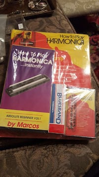 Harmonica how to play set new!