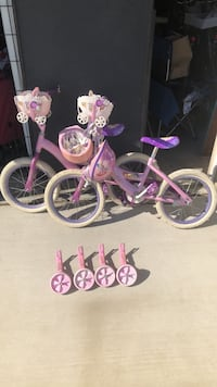 Girl's Bicycle. Just 1. The other one sold.