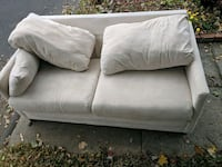 Love seat pullout