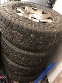 6 lug Chevy rims and tires Anchorage, 99504