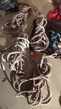 four brown ropes