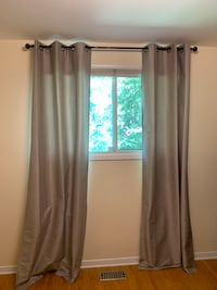 Curtains with hanging rod Welland, L3C