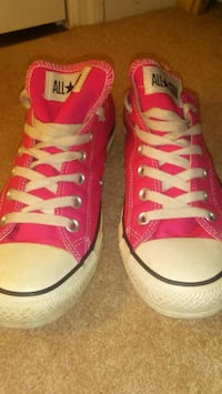 Pink All Star Converse Shoes Hubert, 28539