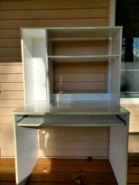 IKEA Office Desk With Hutch