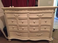 Dresser RTG Disney Princess some ware drawers are tongue & grove.. Long last drawers Bradenton, 34202