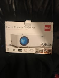 Brand new home theatre projector