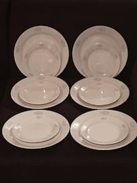 Vintage 12-pc Set of Corelle Dining Ware Vienna, 22180