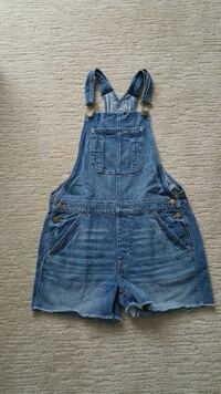 Ladies American Eagle Short Overalls Size Small London, N6G
