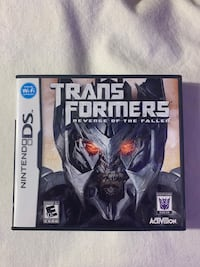 TRANSFORMERS DS GAME