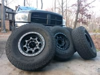 """Trailready HD17 Beadlock Wheels + 35"""" Open Country AT2 Columbia, 21045"""