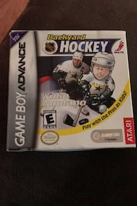 Game Boy Advance Backyard Hockey