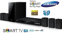 Samsung HT-J4500 5.1 Channel 500 Watt 3D Blu-Ray Home Theater System Mississauga