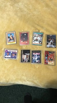 eight assorted trading cards Decatur, 37322