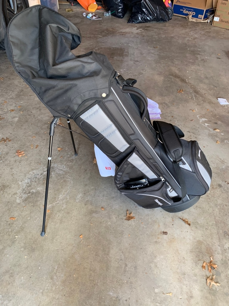 Photo Slazenger Stand Up Golf Bag with Extras!