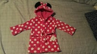 Disney Minnie Mouse flickor mjuk Fleece Hooded mor Estocolmo, 123 71