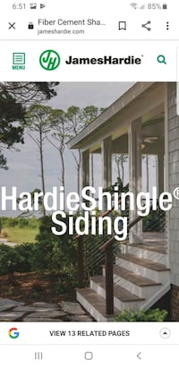 Hardie Shingle straight siding $6 each piece  Springfield, 22151